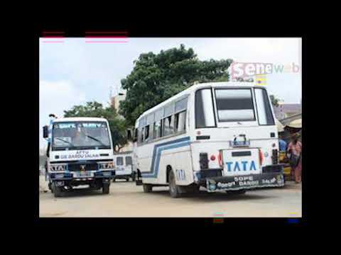 Plusieurs blessés : Violent choc entre deux bus «Tata» au Virage de Ngor