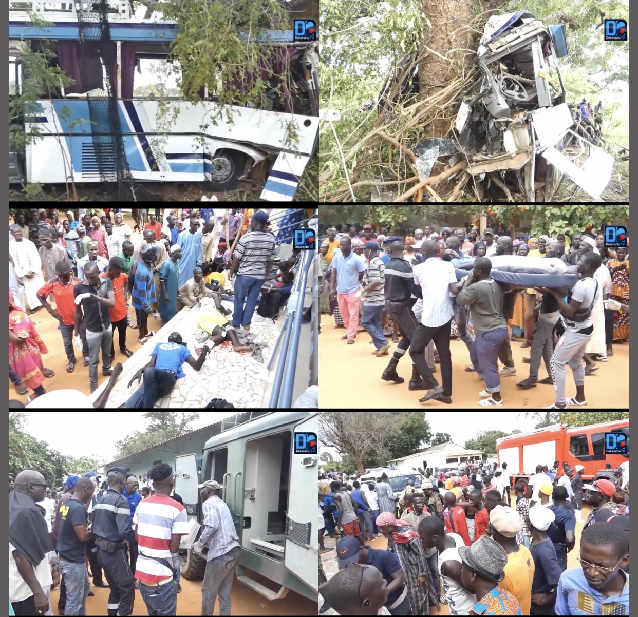 Sénégal / Les chiffres de l'hécatombe : 536 accidents, 18.390 victimes, 430 morts en 8 mois