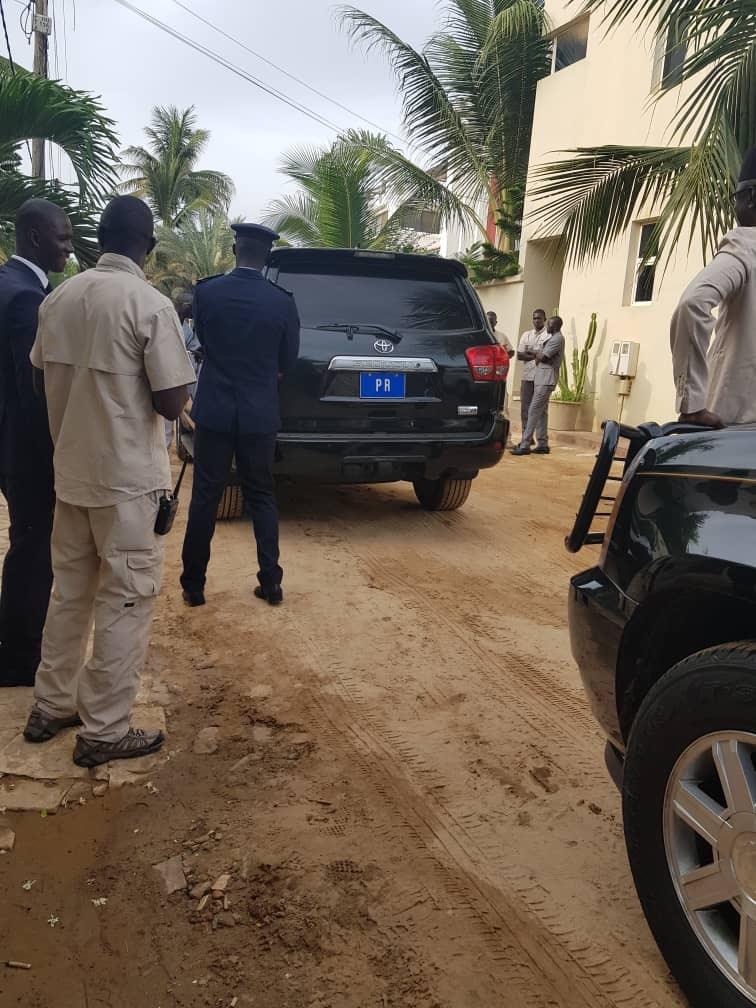 Le président Macky Sall présente ses condoléances à la famille de Amath Dansokho