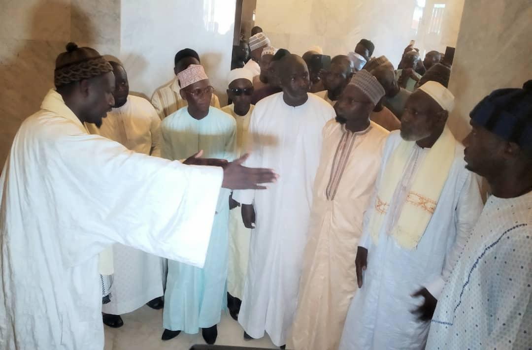 Les images de la visite du Cadre Unitaire de l'Islam au Sénégal dirigé  par son Président Serigne Cheikh Tidiane SY ibn Serigne Abdou Aziz Al Amin ce samedi 7 Septembre 2019 à la grande mosquée Massalikoul Djinane de Dakar .