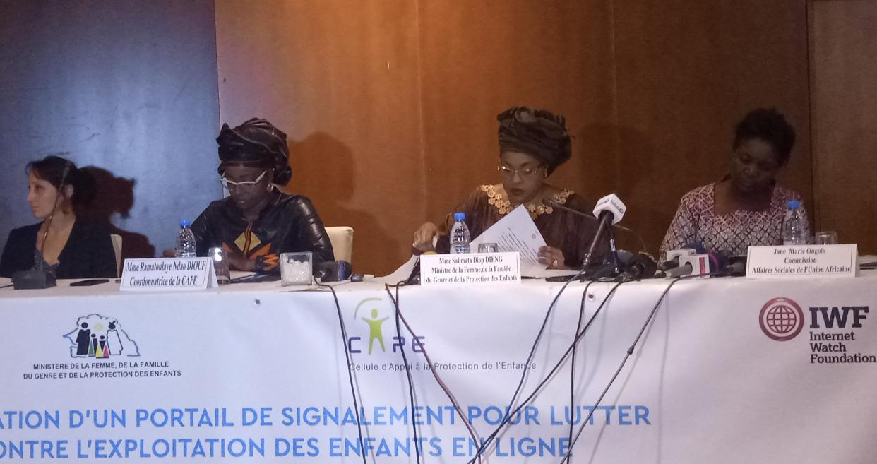 Exploitation sexuelle des enfants en ligne : Le Sénégal lance « Le Portail de signalement de lutte contre l'abus sexuel »