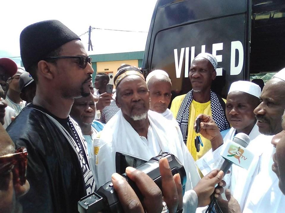 KOLDA : Mame Boye Diao offre un corbillard à la grande mosquée.