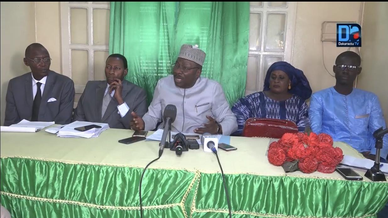 Histoire génerale du Sénégal : Le PSD JANT BI félicite Iba Der Thiam et l'invite à tenir bon.
