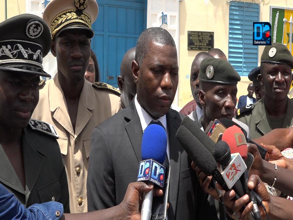 Saint-Louis : Mamadou Saliou Sow (Secrétaire d'État auprès du ministre de la justice) annonce une révision du Code de procédure pénale pour désengorger les prisons.