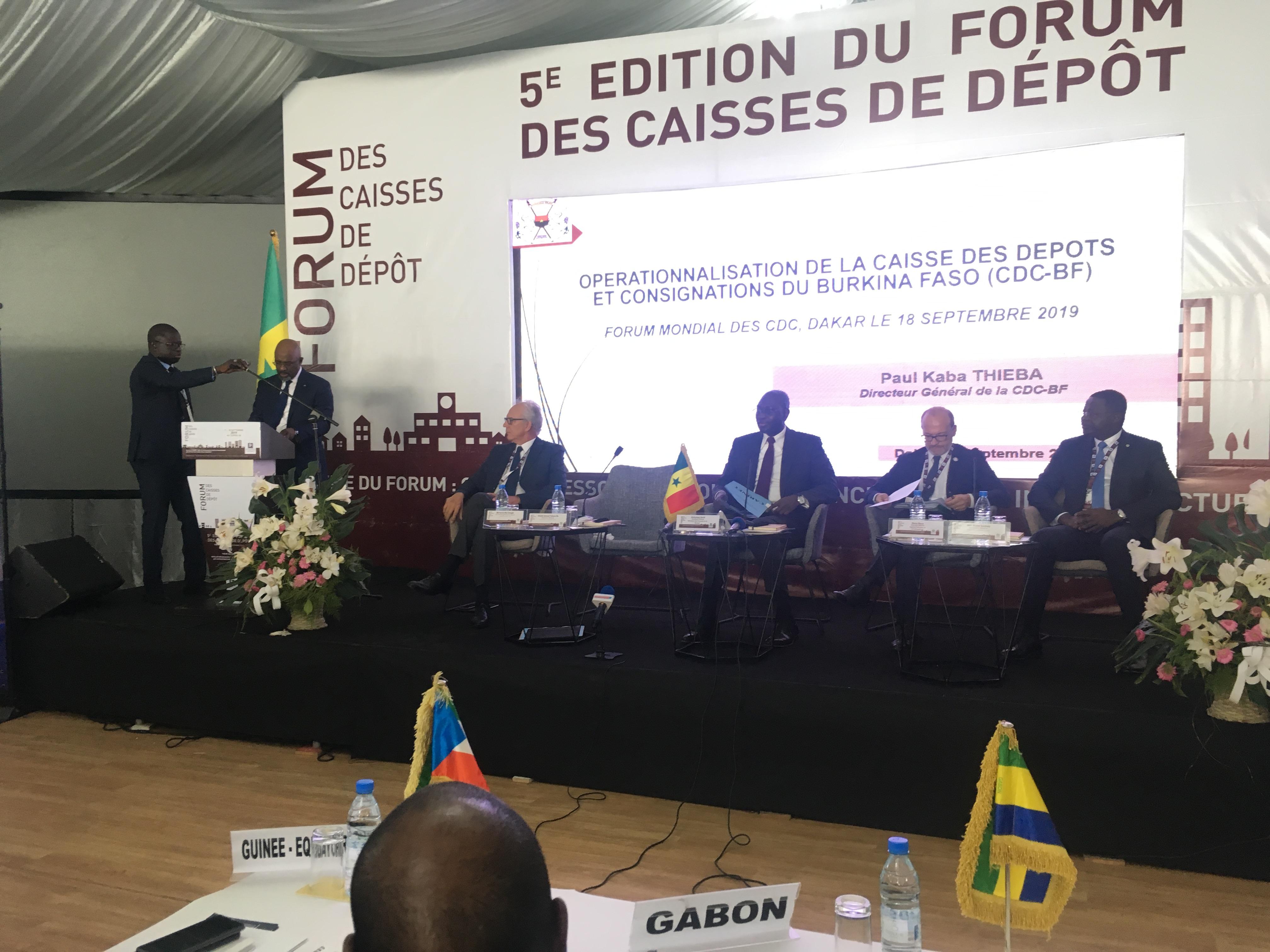 Economie : Dakar abrite la 5ème édition du Forum des Caisses de Dépôt.