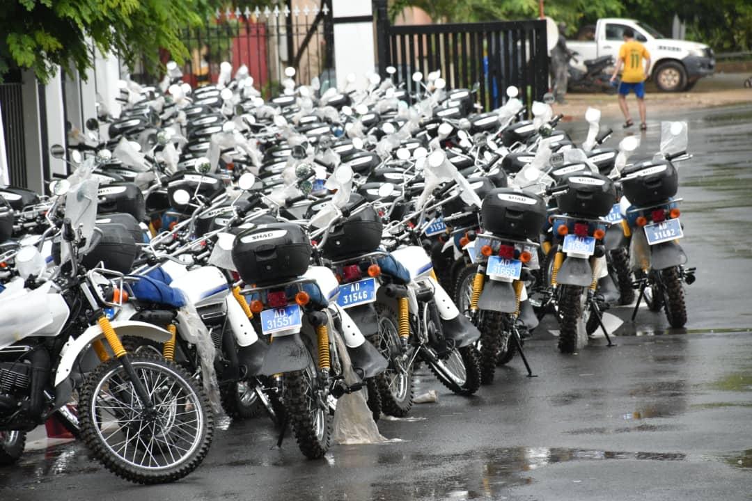 Résilience du système sanitaire : Le ministre Abdoulaye Diouf Sarr réceptionne 255 motos d'une valeur de 500 millions de Fcfa