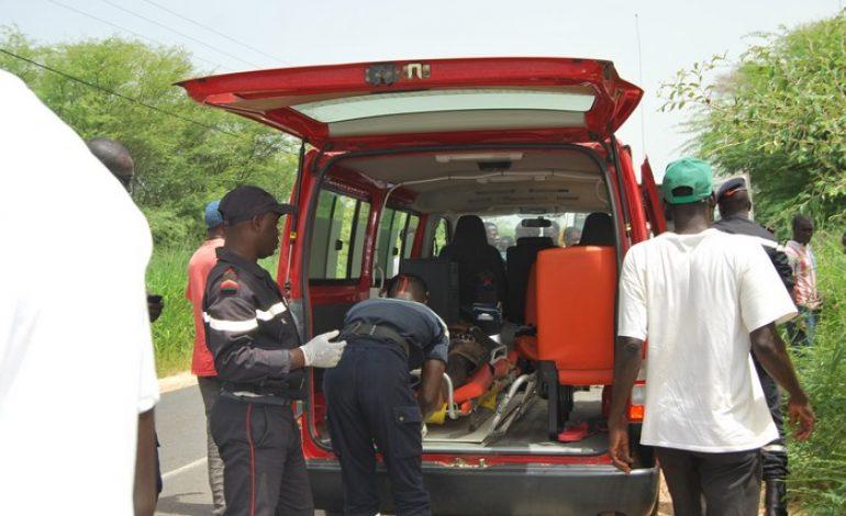 Koutal/Kaolack : Un accident entre un mini-car et une moto Jakarta fait un mort