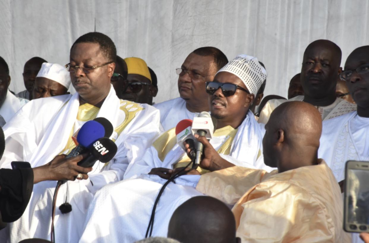 Diamalaye : Le message réconfortant de Serigne Bass Abdou Khadre  Mbacké aux mourides