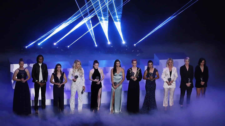Cérémonie The Best FIFA 2019 : Découvrez le premier onze-type féminin de l'histoire