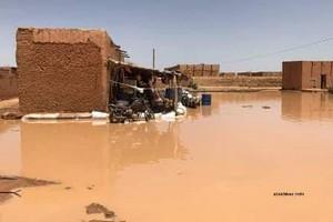 Podor : des villages de l'île à Morphil coupés du pays par les eaux.