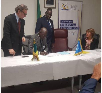 Sommet des Nations-Unies sur « Climate Action » : Le Sénégal signe un pacte citoyen pour lutter contre l'injustice climatique