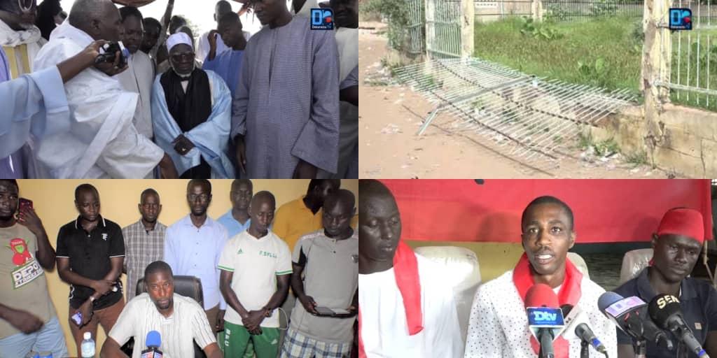 MBACKÉ VEUT UN STADE / ' Notre lycée nous avait coûté le bras d'un jeune potache et aujourd'hui nous avons besoin d'un stade et sommes prêts à... ' (Mbaye Sy)