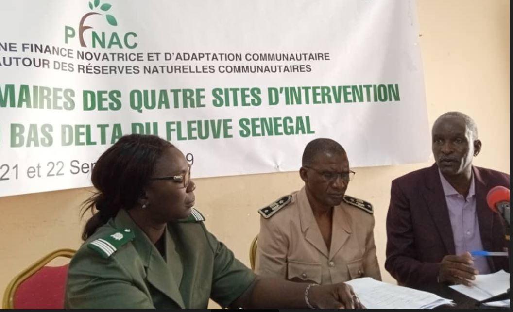 Bas delta du fleuve Sénégal : Des élus à l'école de l'adaptation aux changements climatiques.