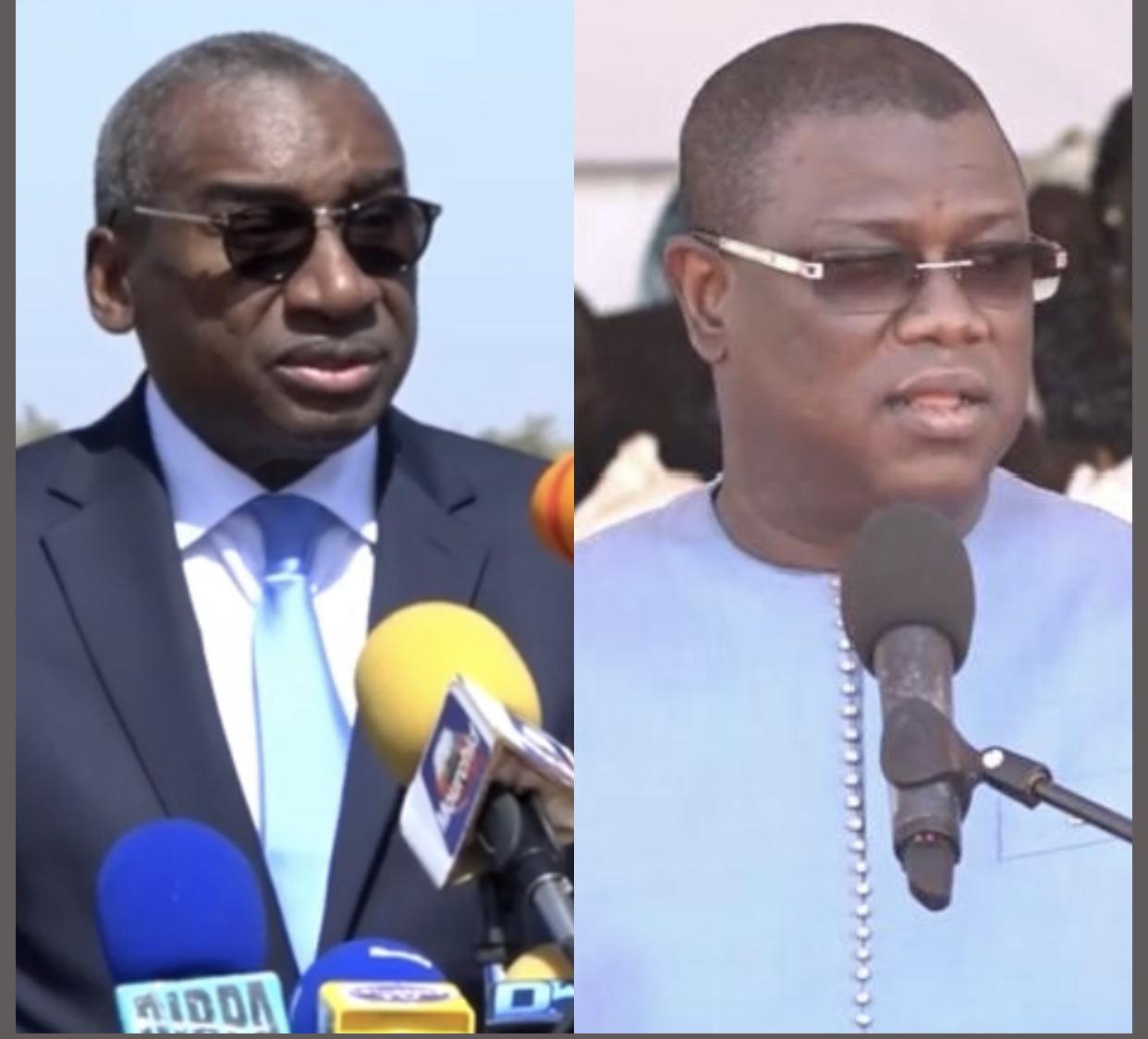 Commémoration du Joola / Les hommages rendus à Moussa Cissokho et à Abdourahmane Tine.