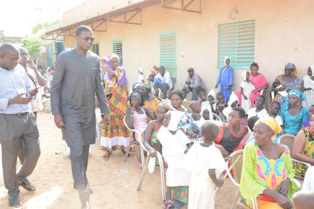 Pikine : Une opération de circoncision pour 160 enfants initiée par Mamadou Guèye de la « convention citoyenne Neneen »
