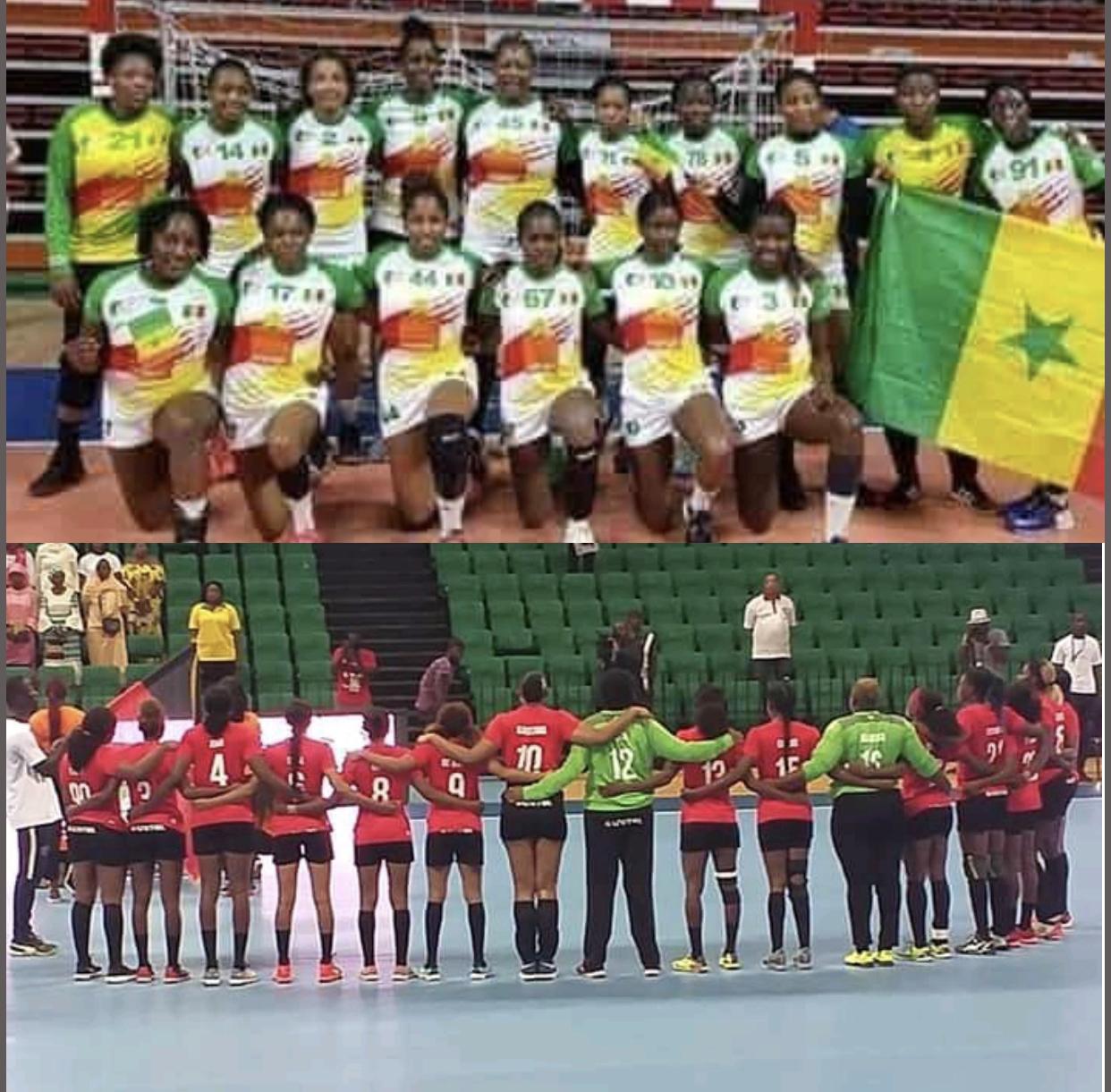 Handball féminin - TQO Dakar2019 : Le Sénégal et l'Angola s'affrontent à nouveau, en finale