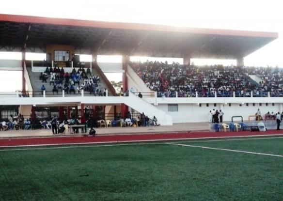 Tournoi UFOA :  Panne d'électricité au Stade Lat Dior durant le match Liberia – Sierra Leone