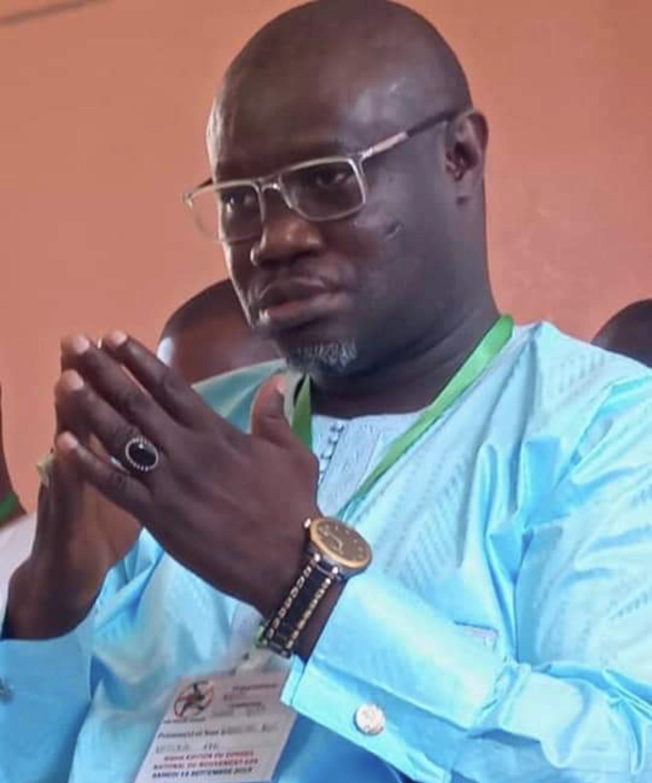 """Babacar Diop (coordinateur national d'ADK) : """"Khalifa Sall reste intact par rapport à ses ambitions de briguer la magistrature suprême"""""""