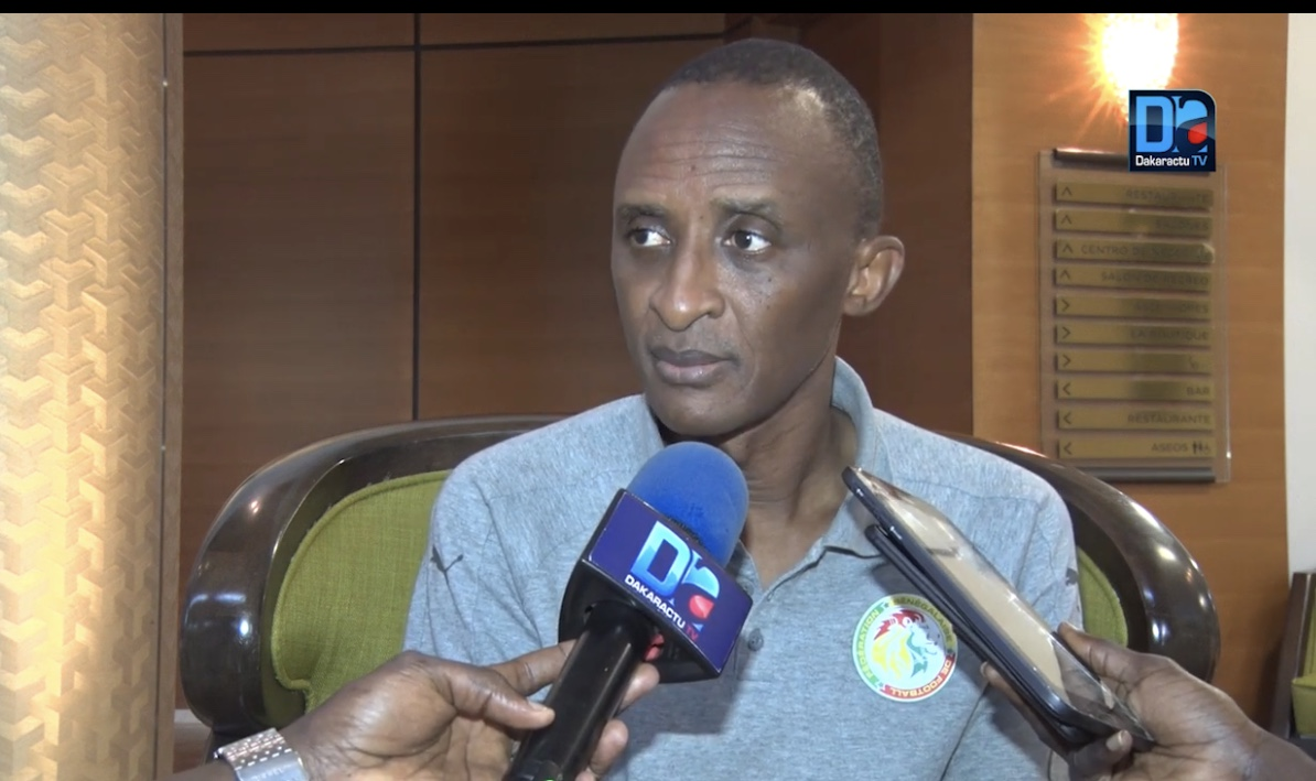 """Brésil - Sénégal : """" Toutes les dispositions sont prises pour bien entamer le match... """" ( Abdoulaye Sow, 2e vice-président FSF)"""