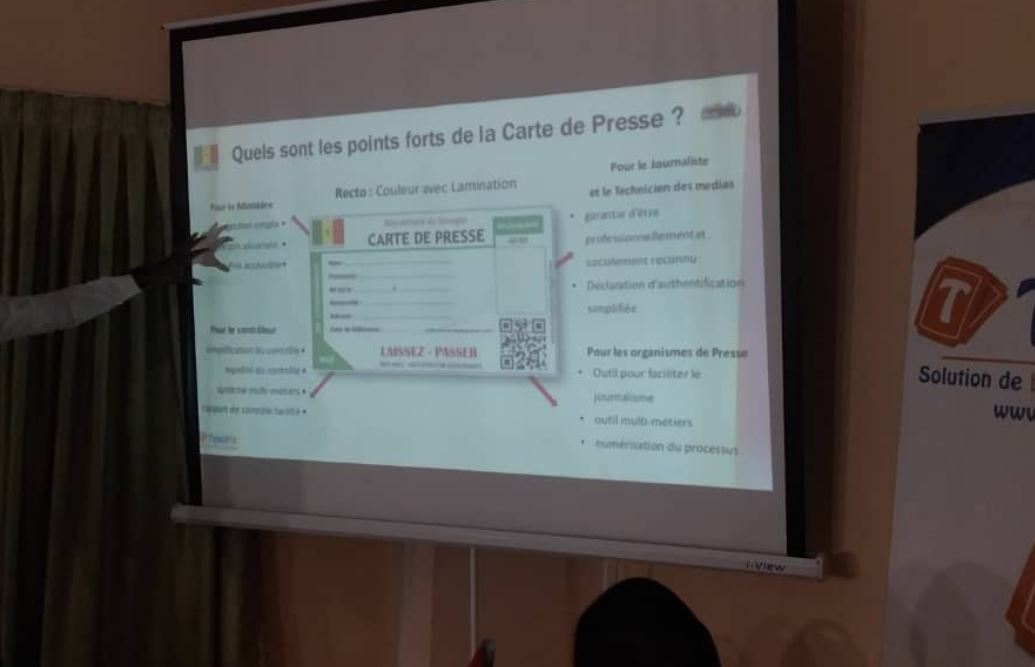 Ibrahima Lissa Faye APPEL : « Quand l'observatoire de la qualité pour la presse en ligne sera mis en place, 80% de ses problèmes vont être réglés… »