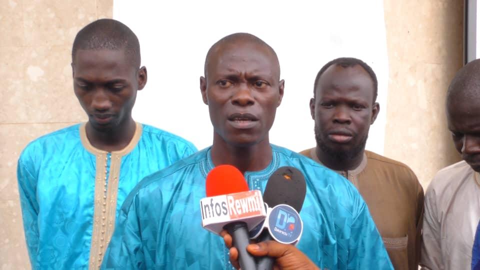 """Pape Gorgui Ndong à Touba :  """"Amnistier Khalifa Sall et Karim Wade devrait être la suite logique de la paix des braves entre Macky et Wade'"""