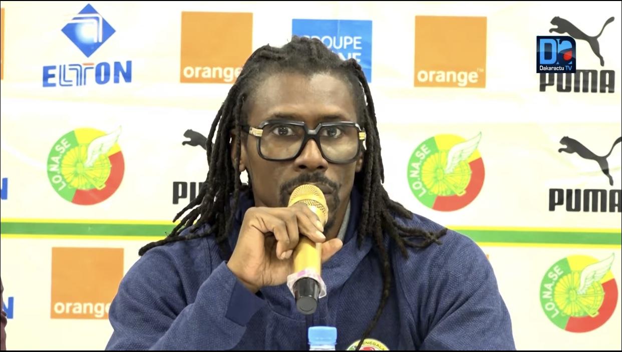 Aliou Cissé sélectionneur des « Lions » : «On ne sera pas attentiste contre le Brésil… »