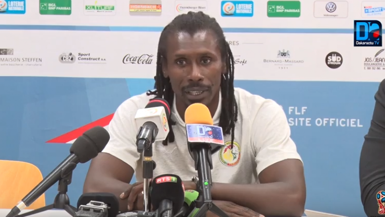 Polémique sur le forfait de Mbaye Niang : Aliou Cissé donne sa version des faits...