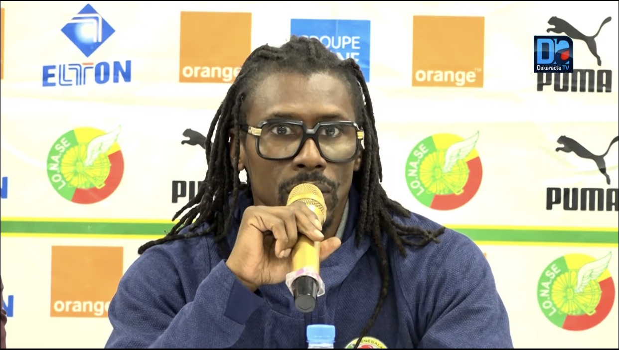 Aveu du sélectionneur en conf' de presse : Aliou Cissé «n'est pas branché réseaux sociaux»