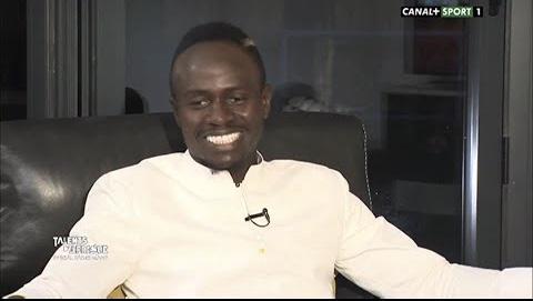 Sadio Mané sur canal+ : « Klopp est comme un papa… »