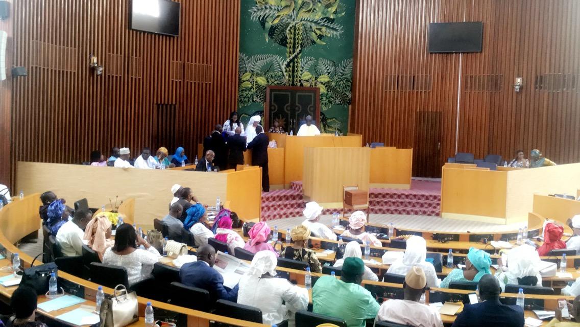 Assemblée nationale : Les vice-présidents et secrétaires élus de l'institution sont connus.