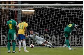 Brésil - Sénégal (1-1) : Ce que Sadio Mané et Famara Diédhiou se sont dit sur le pénalty contre les Auriverde.
