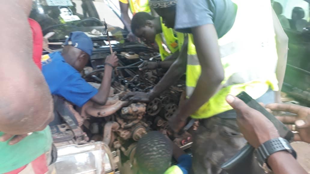 BAYE ALY SOW (Président du REVAS) : «Nous avons réparé gratuitement 468 véhicules et mobilisé 700 mécaniciens et autres ouvriers»