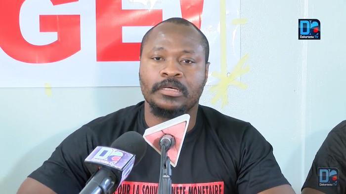 """Guy Marius Sagna : """" J'ai personnellement appellé Sory Kaba pour lui exprimer toute ma solidarité..."""""""