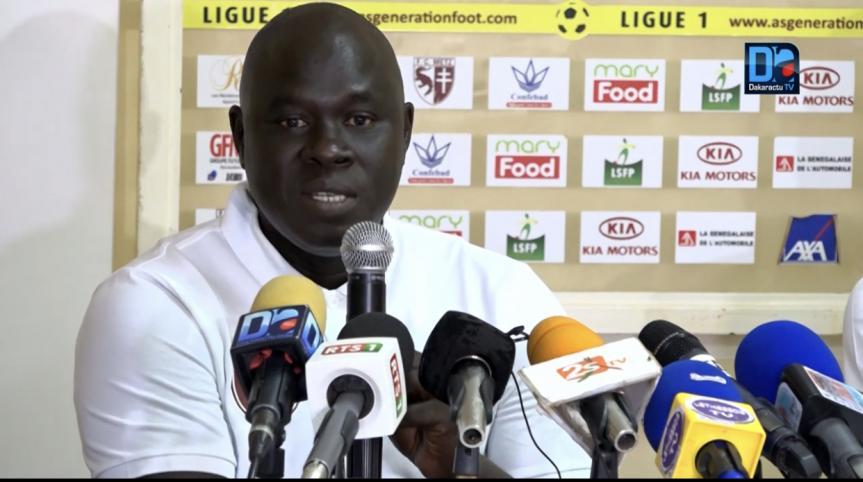 Djiby Fall, coach Génération Foot : « Nous connaissons les forces et les faiblesses de Zamalek… »