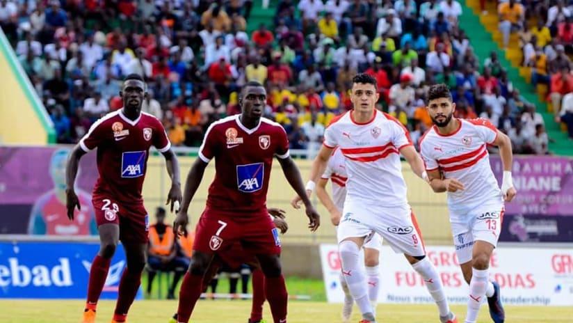 Préliminaires LDC CAF : Le Zamalek et Génération Foot soldent leurs comptes ce jeudi.