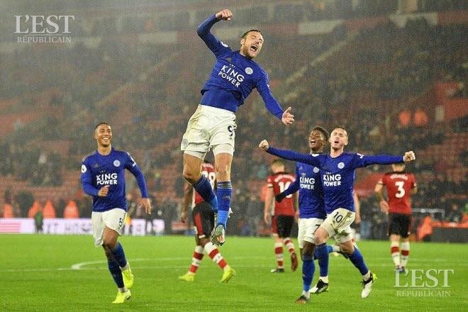 Premier League : Historique ! Victoire 9-0 de Leicester City sur le terrain de Southampton