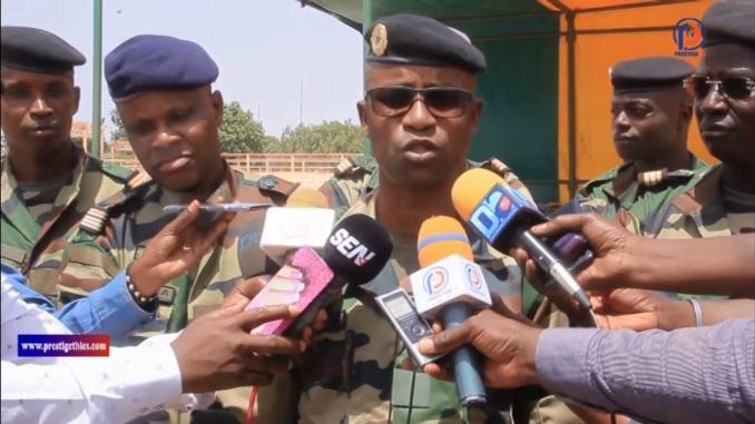 Fatick, Kaolack et Kaffrine : Le Colonel Ousmane Aly Kane commande la zone militaire n°3