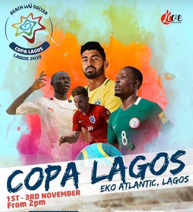 Beach Soccer / Tournoi Copa Lagos : Les « Lions » en route pour le Nigeria
