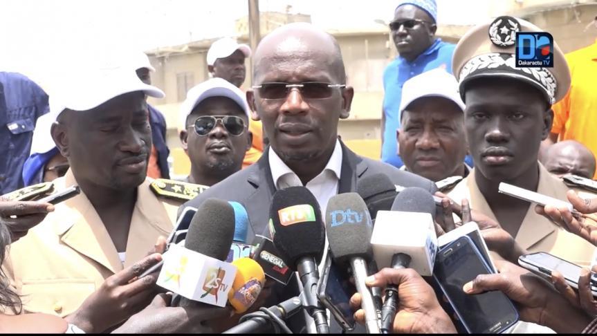 Assainissement : Le comité de pilotage du projet de la dépollution du Nord de Dakar installé.