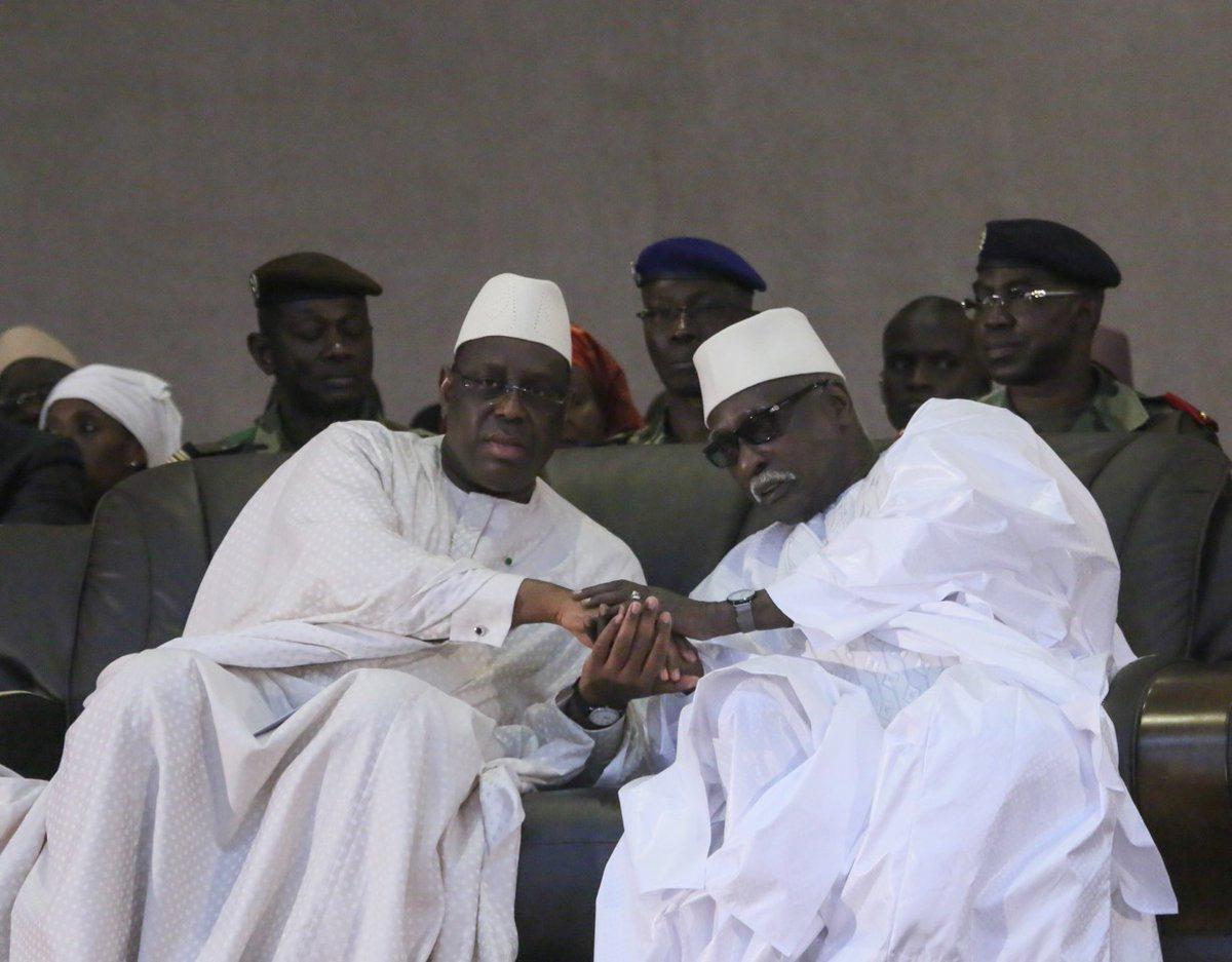 Gamou 2019 : Le président Macky Sall à Tivaouane.