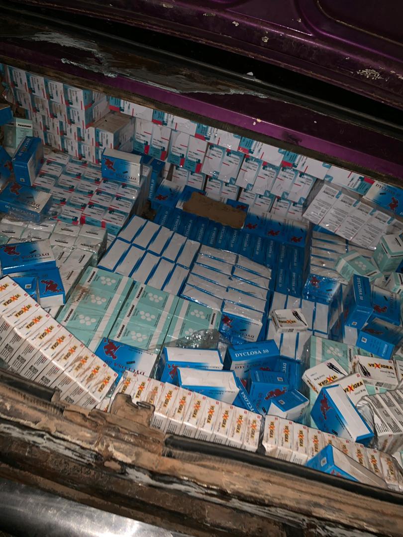 Kaolack : Des faux médicaments d'une valeur de 60 millions saisis par la Douane.
