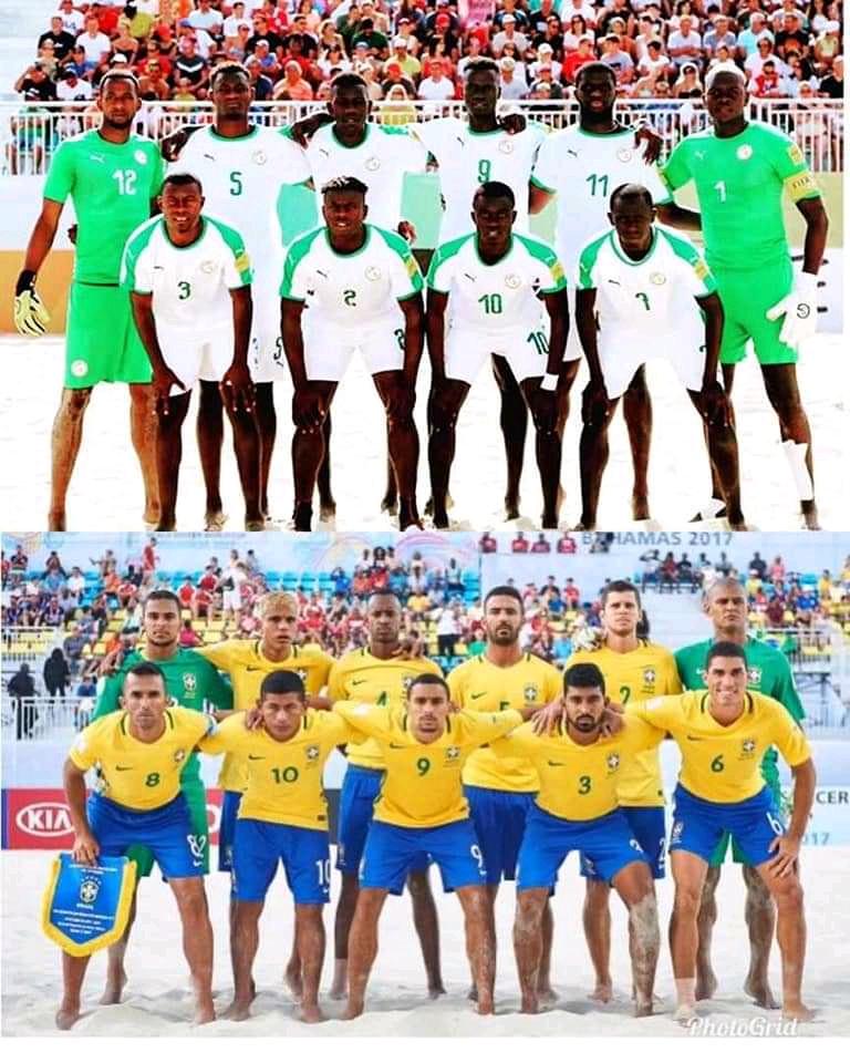 Beach soccer / Copa Lagos : Les lions dominent le numéro 1 mondial en match d'ouverture (Sénégal 5-4 Brésil)