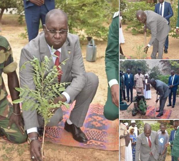 PRÉCISION / Le ministre Abdou Karim Sall explique pourquoi, en plantant ce fumeux arbre, il était en costume, cravate avec des chaussures cirées.