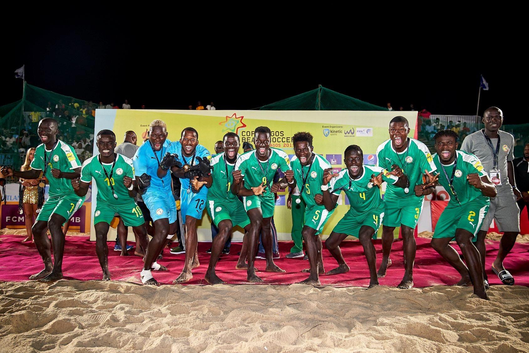 Beach soccer : Le Sénégal remporte la «Copa Lagos» après sa victoire 3-2 contre l'Angleterre.