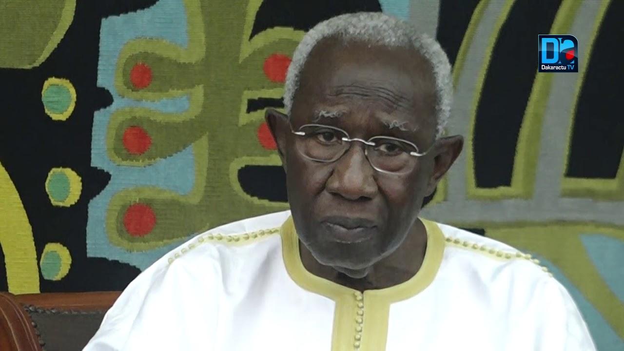 Iba Der Thiam à la famIlle Ndiéguène de Thiès : « Je n'ai jamais dit qu'Ahmadou Barro était un disciple d'El Hadj Malick Sy »