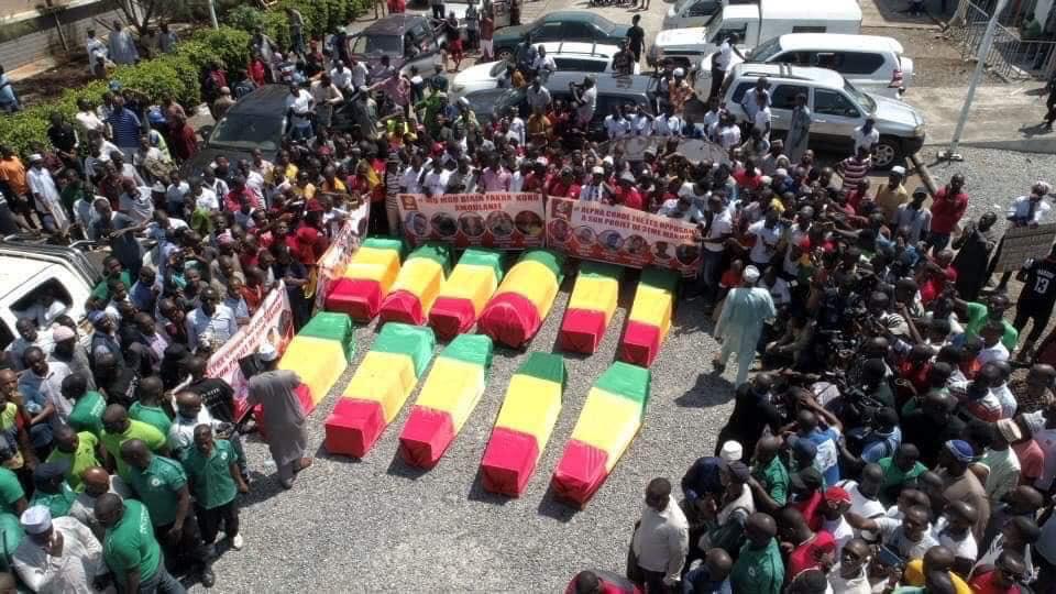 Temps macabre en Guinée : Le FRAPP accuse Alpha Condé.