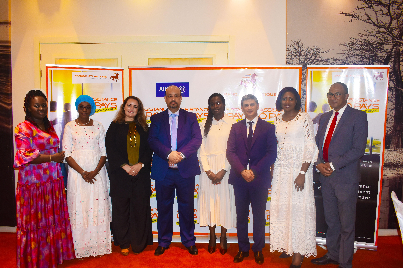 Sénégal : Banque Atlantique lance une offre dédiée à la diaspora sénégalaise en Europe en partenariat avec Allianz Sénégal