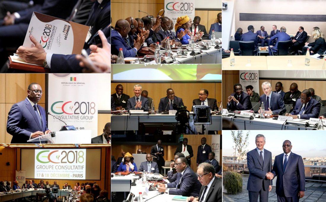 Groupe consultatif de Paris :  1 155 milliards déjà conclus à travers des conventions de financement