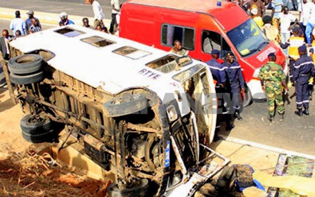 Gamou de Tivaouane : 04 décès et 101 blessés enregistrés sur 28 accidents.