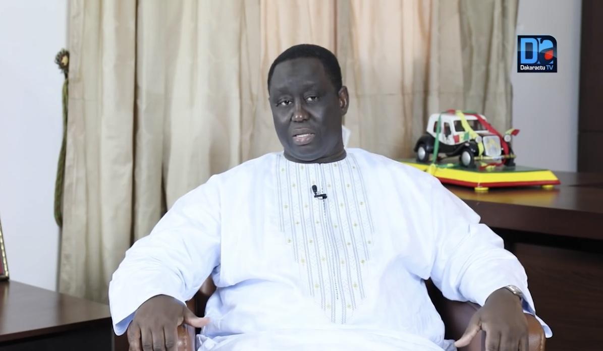 Aliou Sall, hôte du maire de Ngourane, Cheikh Déthié Seck.